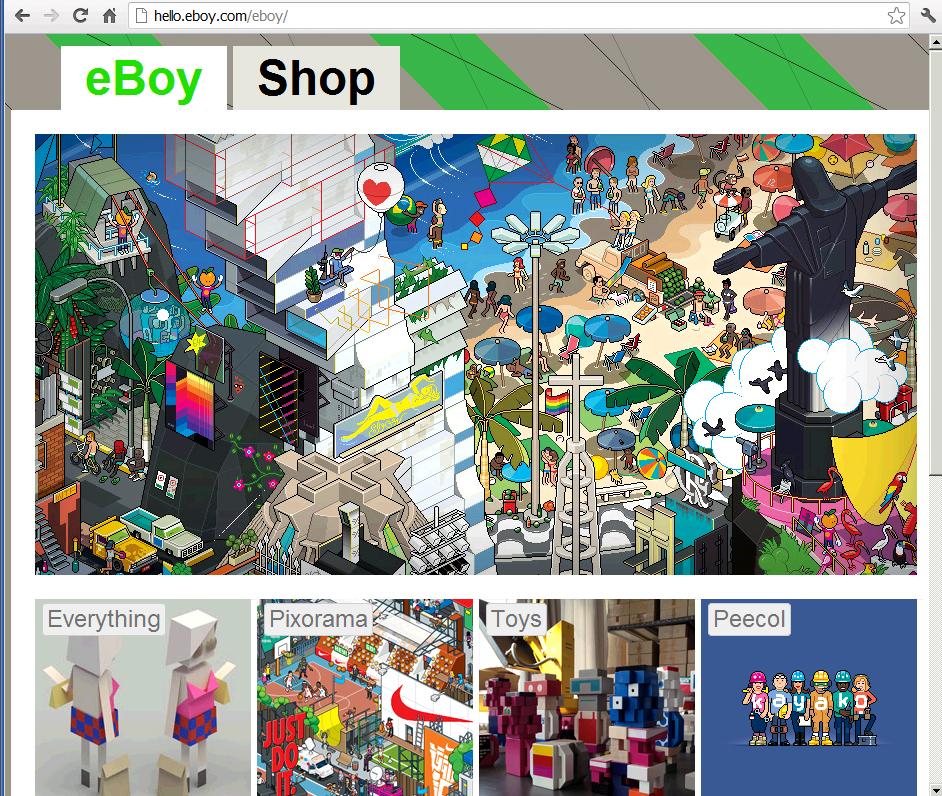 Catalogo eBoy Pixel Art OnTarget